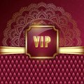 VIP card template Royalty Free Stock Photo