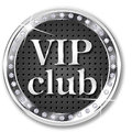 Vip club banner for websites and other places Royalty Free Stock Image