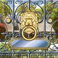 Vip gate entrance this pic is an invitation to wealth and riches there is a name plate that you can put your message Royalty Free Stock Photos