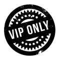 Vip Only rubber stamp Royalty Free Stock Photo