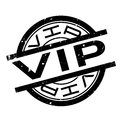 Vip rubber stamp Royalty Free Stock Photo