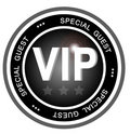 VIP special guest badge Stock Image