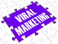 Viral Marketing Showing Advertising Stock Images