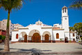 Virgen del carmen church at los cristianos tenerife spain Stock Photography