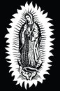The Virgin of Guadalupe - vector Royalty Free Stock Photo
