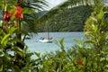 Virgin Islands View Royalty Free Stock Photo