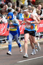 Virgin London marathon Stock Image