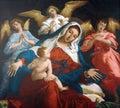 Virgin Mary with baby Jesus Royalty Free Stock Photo