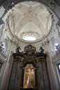 Virgin Mary baroque altar Royalty Free Stock Image