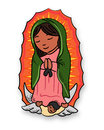 Virgin Mary of Guadalupe Royalty Free Stock Photo