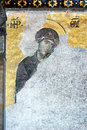 Virgin Mary, Hagia Sophia, Istanbul Stock Images