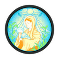 Virgin Mary with Jesus Royalty Free Stock Photo
