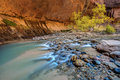 Virgin Narrows of Zion Royalty Free Stock Photo