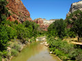 Virgin River Royalty Free Stock Photography