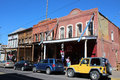Virginia city nevada is an authentic old west town built after the comstock lode silver strike in the s it was for a time the Royalty Free Stock Image