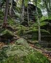 Virginia Kendall Ledges  Cuyahoga Valley National Park Royalty Free Stock Photo
