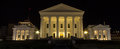 Virginia state capitol at night the is a living landmark to american self government since it has been home to the general Royalty Free Stock Photos