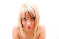 Virtual beauty Royalty Free Stock Photo