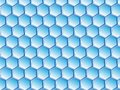 stock image of  Virtual Honeycomb Design