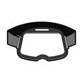 Virtual reality glasses icon
