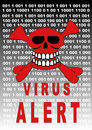Virus alert Royalty Free Stock Photos