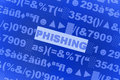 Virus di Phishing Immagine Stock