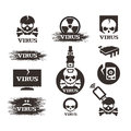 Virus vector format authors illustration in Stock Photo