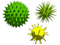 Viruses Stock Photography
