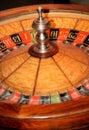 Virutas y ruleta de póker Imagenes de archivo