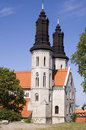 Visby cathedral Royalty Free Stock Photography