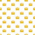 Viscount crown pattern seamless