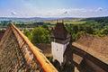Viscri fortified monastery Royalty Free Stock Photo