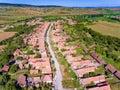 Viscri village in Transylvania, Romania