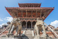 Vishwanath Temple at Patan dubar square Royalty Free Stock Photo
