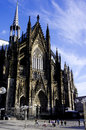 A vision of Cologne Cathedral with Blue Sky Royalty Free Stock Photo