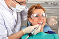 Visit to dentist Royalty Free Stock Images