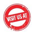Visit Us At rubber stamp
