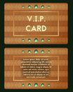 Visiting card with emerald vector . Luxury cutaway with diamond.