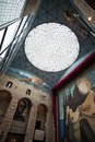 Visitingthe dalí theatre museum on october in figueres spain Stock Photography