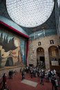 Visitingthe dalí theatre museum on october in figueres spain Stock Photos
