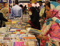 Visitors 8th Karachi international Book Fair Stock Image