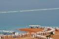 Visitors in Ein Bokek resort at the Sead Sea, Israel Royalty Free Stock Photo