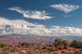 Vista at Canyonlands National Park Stock Photography