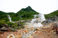 Vista do sulphur springs Imagem de Stock