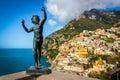 Vista at Positano Italy Royalty Free Stock Photo
