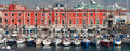 Vista sul Mare - Naples famous quay. Royalty Free Stock Photo
