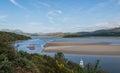 Vista on Welsh coast Royalty Free Stock Photo