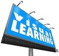 Visual Learning Billboard Sign Watching Seeing Demonstration Edu