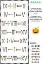 Visual math puzzle with roman numerals and matchsticks in every row add just one matchstick to make the equation correct answer Royalty Free Stock Image
