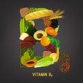 Vitamin B9 in Food